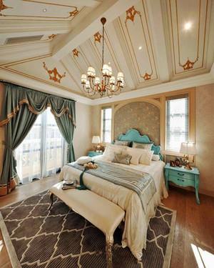 135平米法式风格卧室装修效果图赏析
