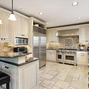 欧式风格大户型厨房装修效果图