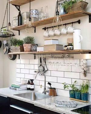 日式风格小户型厨房装修设计效果图赏析