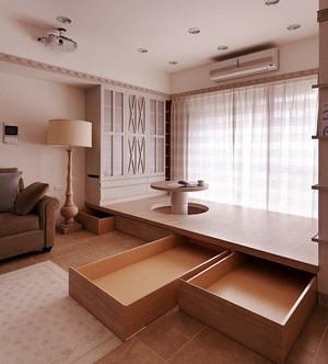 小户型现代精致榻榻米室内装修效果图实例