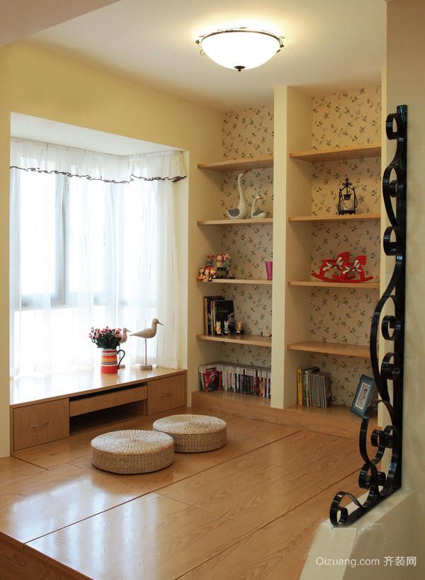 唯美的小户型现代室内榻榻米设计装修效果图