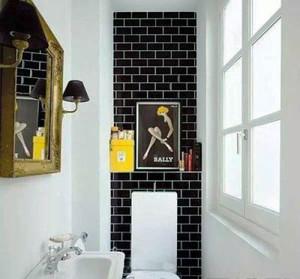 现代简约风格单身公寓卫生间洗漱台设计效果图赏析