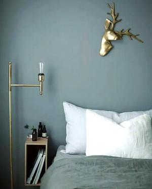 一居室现代风格卧室落地灯设计效果图赏析