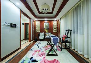 中式混搭风格别墅整体装修设计效果图赏析