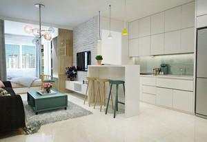 北欧风格一居室整体装修效果图赏析