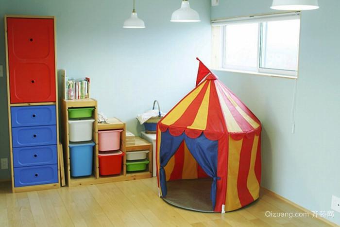 韩式风格小户型儿童房装修效果图赏析