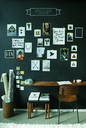 后现代风格二居室照片墙设计效果图赏析