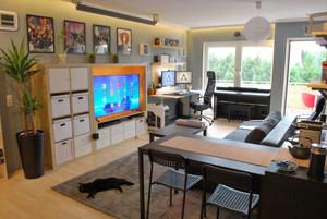 60平米后现代男生公寓室内装修效果图赏析