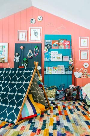 95平米简欧风格儿童房装修效果图赏析