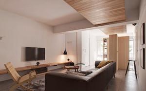 100平米简约风格客厅装修效果图赏析