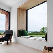 别墅自然风格飘窗设计装修效果图