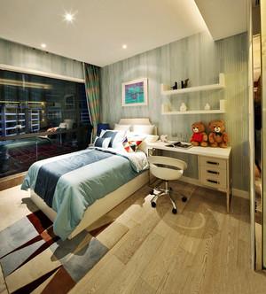 100平米现代简约风格儿童房装修效果图赏析