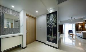 100平米现代简约风格室内装修效果图赏析
