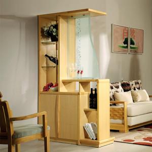 二居室现代简约风格客厅隔断设计效果图赏析