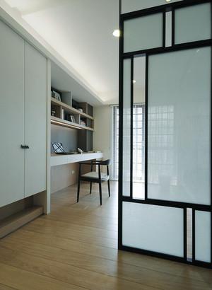 100平米新中式风格书房隔断设计效果图鉴赏