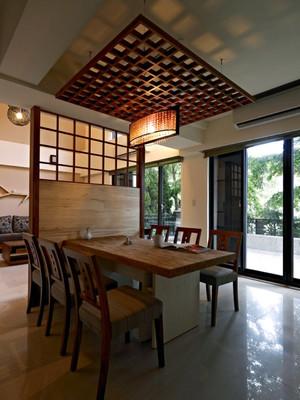 140平米中式风格餐厅装修效果图赏析