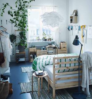 北欧风格三居室卧室装修效果图赏析