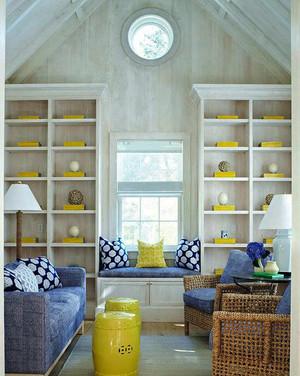 70平米现代风格客厅飘窗设计效果图赏析
