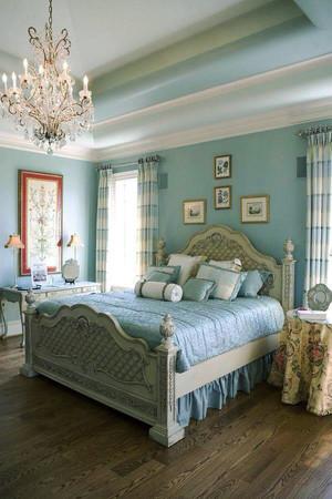 法式风格大户型女生卧室装修效果图赏析