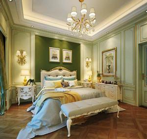 法式田园风格大户型卧室装修效果图赏析