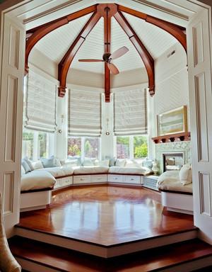 法式风格别墅阳台飘窗设计效果图赏析