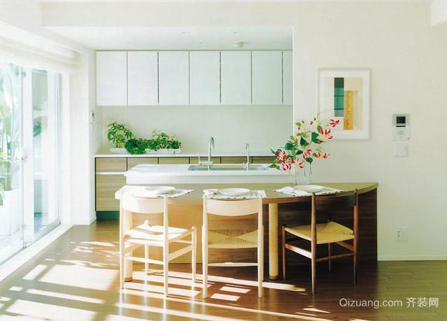 韩式风格小户型厨房装修效果图赏析