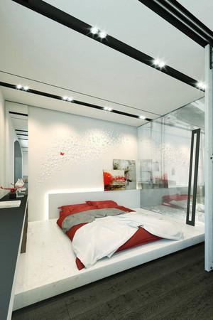 78平米后现代风格室内装修效果图赏析