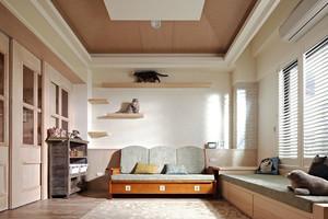 简约风格二居室客厅飘窗设计效果图鉴赏