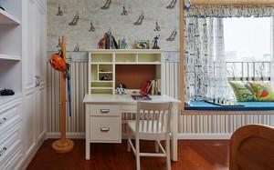 122平米美式风格室内装修效果图赏析
