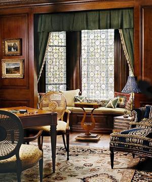 欧式风格三居室客厅飘窗设计效果图赏析