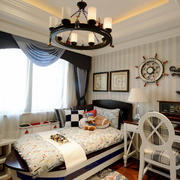125平米欧式风格儿童房装修效果图赏析