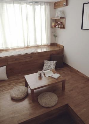 日式风格三居室榻榻米飘窗设计效果图赏析