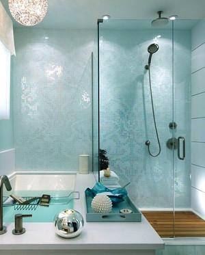 现代风格二居室卫生间装修效果图赏析