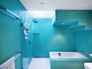 现代简约风格三居室卫生间装修效果图赏析
