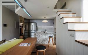 现代简约风格跃层室内装修效果图赏析