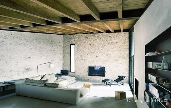 现代loft风格复式楼装修效果图鉴赏