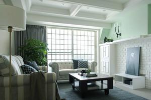 120平米现代美式风格室内装修效果图赏析