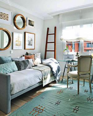 北欧风格二居室客厅装修效果图赏析