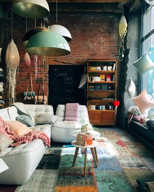 北欧风格二居室客厅吊顶设计效果图鉴赏