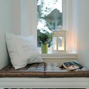 65平米北欧风格卧室飘窗设计效果图赏析