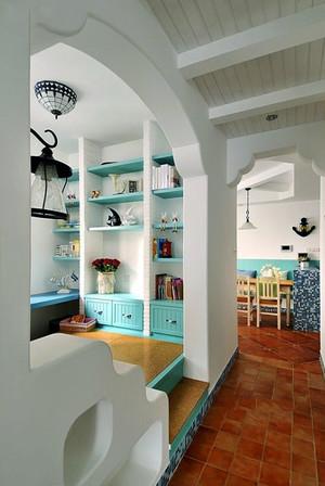 地中海风格二居室榻榻米设计效果图赏析