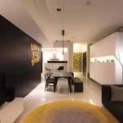 后现代风格三居室餐厅装修效果图赏析