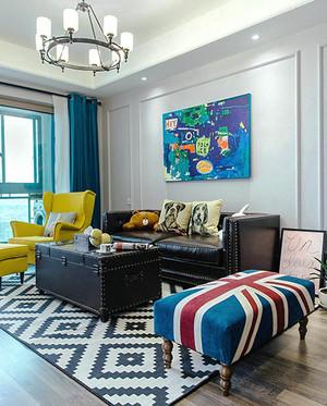 美式混搭风格大户型室内装修效果图赏析