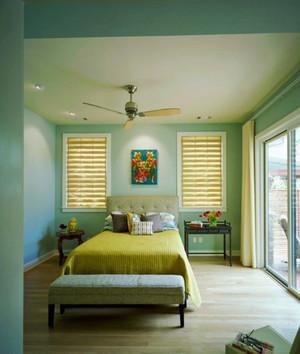 美式田园风格大户型女生卧室装修效果图鉴赏
