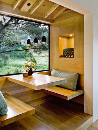 日式风格二居室飘窗设计效果图