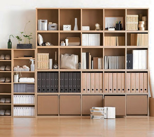 日式风格三居室书房装修效果图赏析