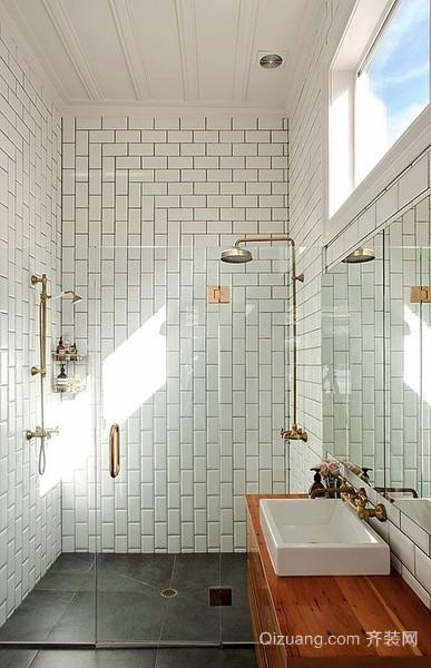 日式风格单身公寓卫生间装修效果图赏析