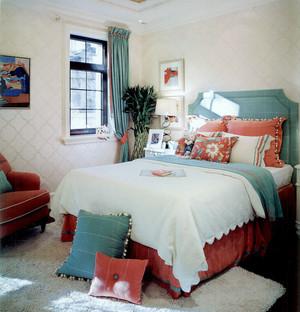 90平米时尚混搭风格卧室装修效果图鉴赏