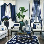 现代法式风格大户型客厅装修效果图鉴赏