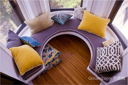 现代简约风格三居室飘窗设计效果图赏析